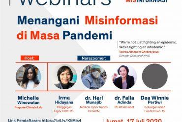 Webinars Jumat Malam: Menangani Misinformasi di Masa Pandemi