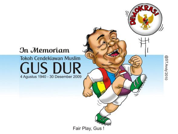 Bola Demokrasi (Catatan tentang Gus Dur)