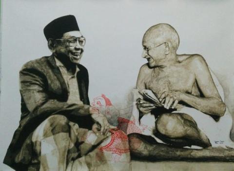Inspirasi Gandhi dan Jejak Diplomasi Gus Dur di India