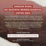 GUSDURian Peduli Galang Dana Solidaritas untuk Korban Tragedi Sigi