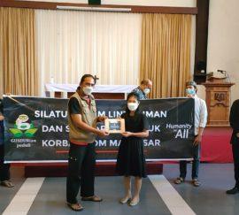 Tali Asih GUSDURian Peduli untuk Korban Bom Makassar